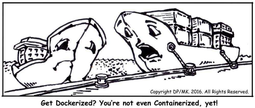Docker Cartoon