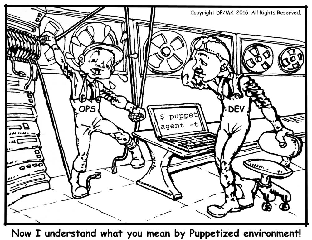 Puppet Cartoon
